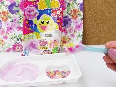 Kracie Popin' Cookin' Weintrauben Schaum | DIY Süßigkeiten Paste Set | Brause Spaß Geschenk Idee