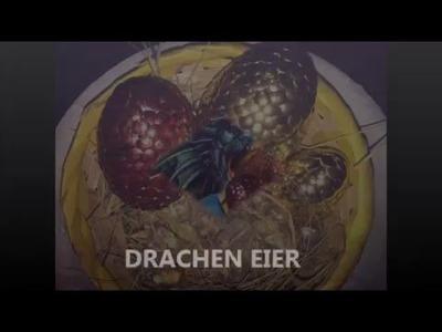 DIY DRACHEN EIER. DRAGON EGGS