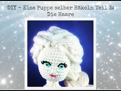DIY - Elsa Puppe selber häkeln Teil 3: Haare anknüpfen