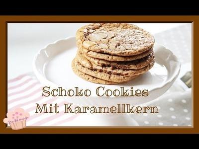 DIY | Schoko Cookies mit Rolo Karamellkern |  schnell & einfach selber machen | Back Lounge 2016