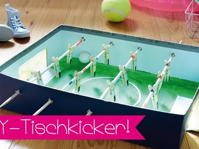 TISCHKICKER SELBER BAUEN I DIY I FUSSBALL I KINNERTiED #61