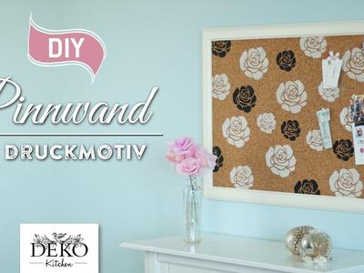 DIY: hübsche Pinnwand mit Druckmotiv selber machen [How to] | Deko Kitchen