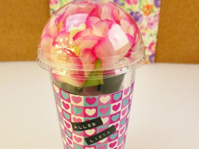 DIY Geschenkbox | Aus Alt mach NEU | Super schöne & kreative Geschenk Idee | Washi Paper & Blumen