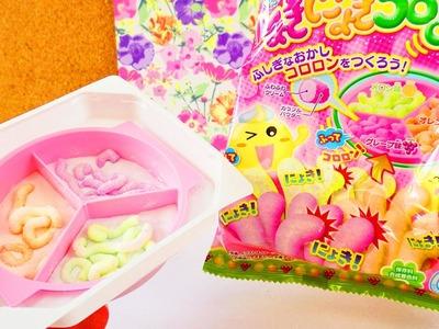 NEUES Popin' Cookin' Set von Kracie | DIY Candy in Wurm Form | japanische Süßigkeite | DEMO