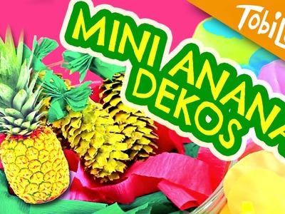 DIY Ananas basteln Sommer Kinderzimmer  Deko - Tobilotta 50