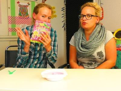 DIY Candy in Wurm Form im Test | japanische Süßigkeite | Popin' Cookin' Set von Kracie