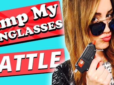 "DIY CHALLENGE ""Pimp my SUNGLASSES"" l  w.Nora vs. FLIP"