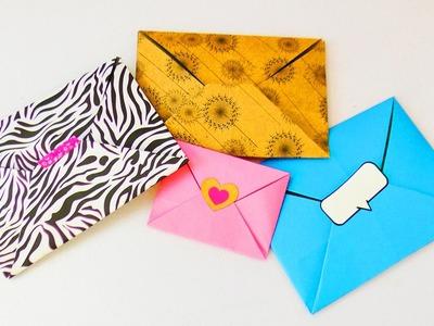 Süßen Origami Umschlag falten | Super einfach & schnell | Liebesbriefe gestalten | Gutschein