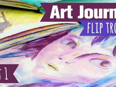 [Craft Update] Meine Art Journals - Teil 1 | Flip Through