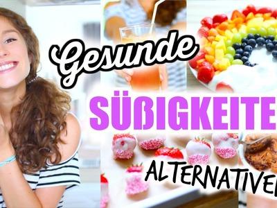 DIY gesunde SÜßIGKEITEN für den SOMMER + SOMMERFERIEN! ♡ BarbieLovesLipsticks