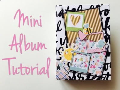 DIY MiniAlbum *Urlaub Ahoi* [ tutorial | deutsch]