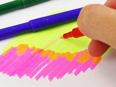 DIY ZAUBERSTIFTE selber machen | Magic Pen verändert die Farben | Zum Malen, Gestalten & Schule