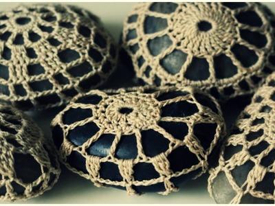 Steine umhäkeln * DIY * Crochet Stones [eng sub]