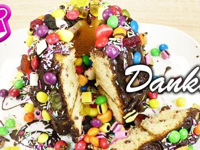 100 VIDEOS auf DIY Inspiration Koch & Back Club | super einfacher Pinata Kuchen | DANKE