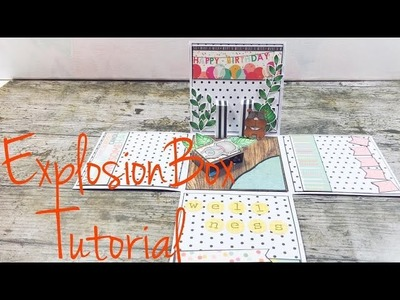 DIY ExplosionBox *Wellness* [tutorial |deutsch]