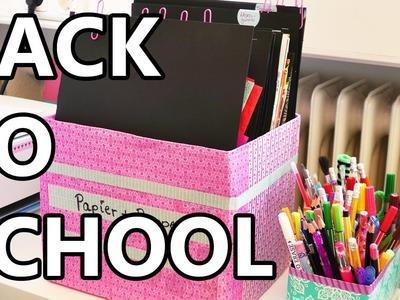 DIY Ordnungssystem | Papier & Pappe sortieren | Zimmer aufräumen & Back to school Idee