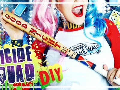 SUICIDE SQUAD Harley Quinn DIY Baseball Schläger & Schmuck #TypischSissi