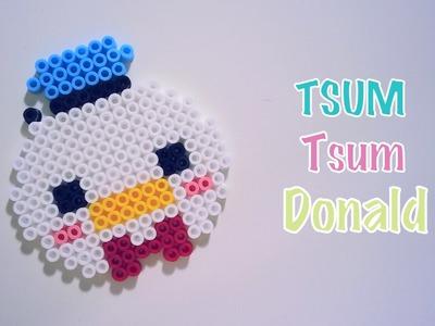 DIY Tsum Tsum Donald Perles à repasser Hama