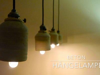 DIY Upcycling Beton Hänge Lampen Anleitung + BONUS-Material