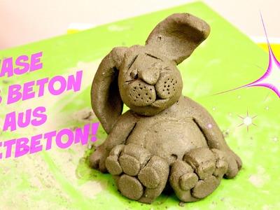 DIY: Deko Hase aus Knetbeton Selber machen! Einfache Tipps&Tricks