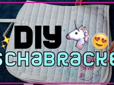 DIY Schabracke  ❤️ Motiv Schabracke selber machen