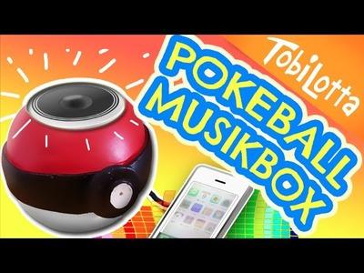 Pokeball Lautsprecher basteln | Kinder DIY | pokemon Go basteln -  Tobilotta 54
