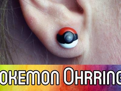Pokemon Schmuck selber machen: Pokeball Ohrringe aus FIMO | DIY Anleitung für Anfänger | kreativbunt