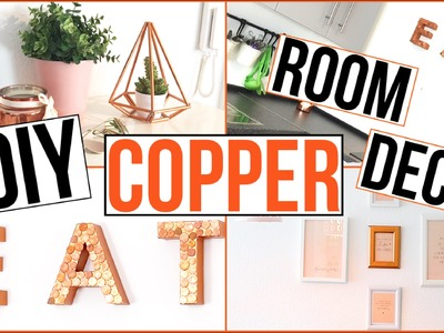 DIY ROOM DECOR - Roségold.Kupfer - TheBeauty2go
