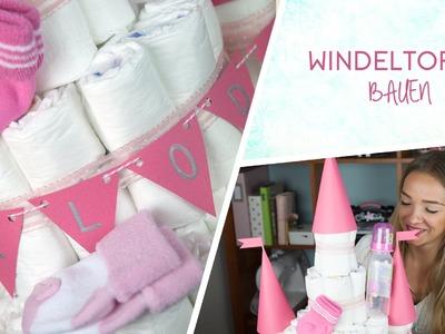 Windeltorte DIY Windelburg