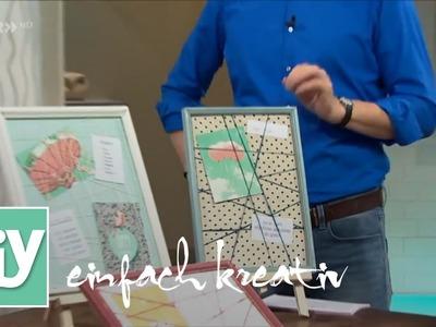 Pinnwand individuell gestalten | DIY einfach kreativ