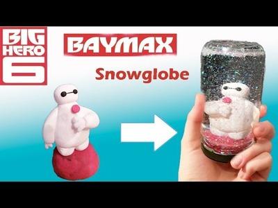 DIY Schneekugel - Baymax im kuschlig, weichen, (sicheren) Glitzergelee