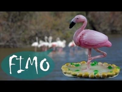 Flamingo ~ ABC ~ Polymerclay. Fimo. Tutorial