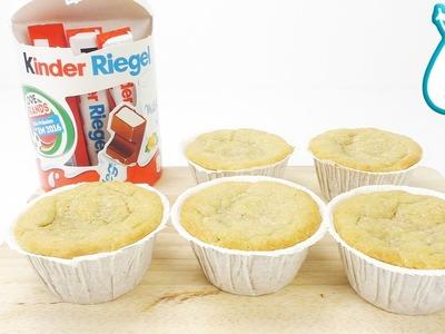 KINDERRIEGEL SCHOKO MUFFINS essen mit KAAN,YOSHI und EVA von DIY KOCH und BACK CLUB - Muffin Test