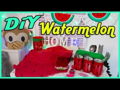 DiY Watermelon. 7 Wassermelonen DiYs. cool & easy