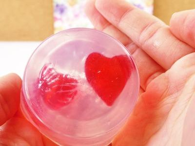Herz Seife selber machen | DIY Herzchen Seife für Muttertag oder die beste Freundin | Geschenkidee