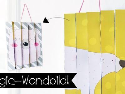 DIY | MAGIC WANDBILD | KINDERZIMMER PIMPEN I KINNERTiED  #77