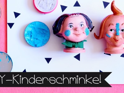 DIY KINDERSCHMINKE I SCHMINKE SELBER MACHEN I KINNERTiED #81