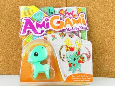 Amigami Origami Hirsch DIY Set für Kinder mit 500+ Möglichkeiten | Unboxing