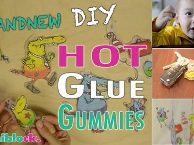 Hot Glue Gummies | Brandneues DIY | mamiblock - Der Mami Blog