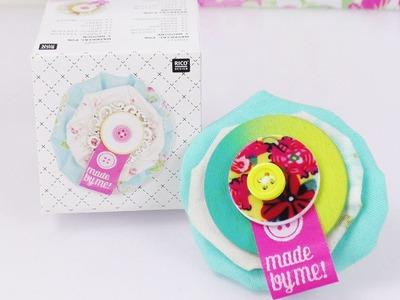 DIY Broschen Set | Süße Brosche selber machen | Geschenk Idee super niedlich | Rico Design