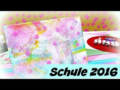 Hefte verschönern   Idee Schule 2016   9999 Dinge - DIY, Basteln & Trends