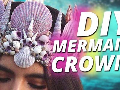 DIY Mermaid Crown l Meerjungfrau Krone l DI-VERSUS w.Cali Kessy & Nora