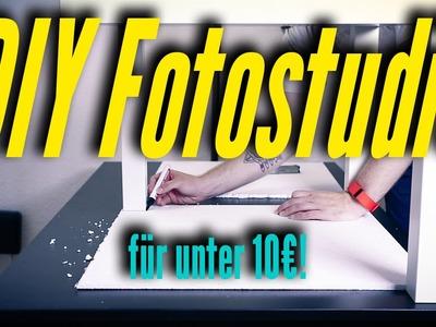 DIY #5: MINI-FOTOSTUDIO für Produktfotos für UNTER 10€!