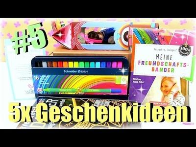 5 Geschenkideen für Weihnachten & Kindergeburtstag #5 | DIY-Set, Fasermaler | 9999 Dinge