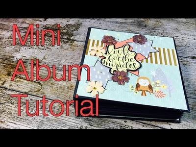 Scrapbook ---Mini-Album---Forest Friends ---DIY---[tutorial | deutsch]