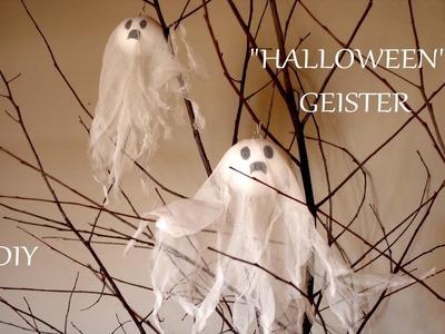 DIY: Halloween Geister | Halloween Deko | Basteln mit Kindern | Just Deko