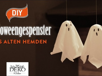 DIY: süße Halloween-Gespenster aus alten Hemden [How to] Deko Kitchen