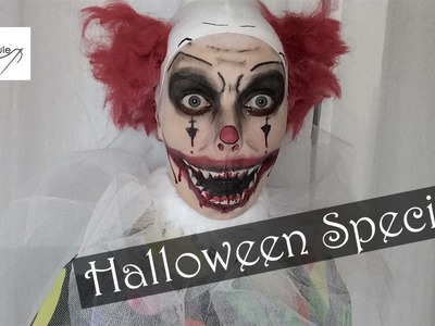 20K & Halloween Special: Creepy Clown nähen – DIY Eule