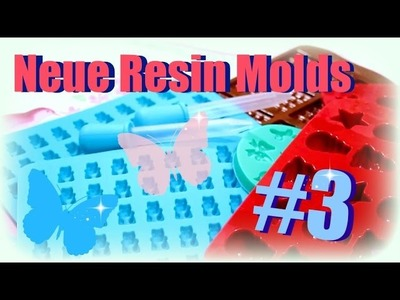 Neue Silikonformen Molds für Resin Tutorial deutsch #3 | 9999 Dinge - DIY, Basteln & Trends