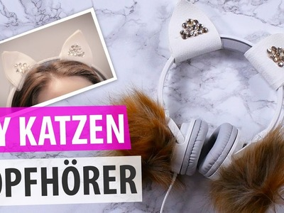 PINTERST DIY KATZEN-KOPFHÖRER l DIY or DI DON'T